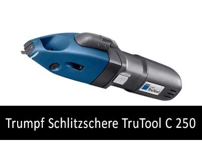 Schlitzschere TruTool C 250