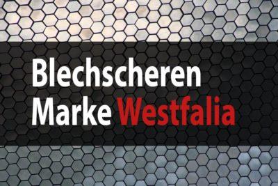 blechscheren westfalia
